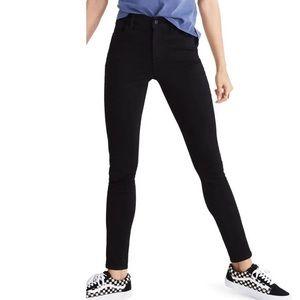Madewell Black Roadtripper Skinny Jeans